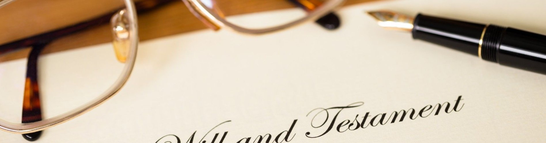 Will and Estate Planning banner